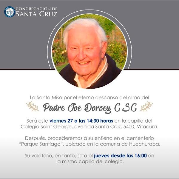 Funerales Padre Joseph Dorsey, C.S.C.