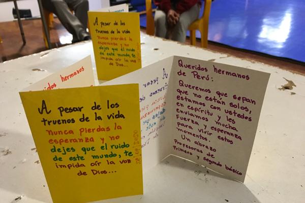 Parroquias de la Congregación en Chile responden a la pandemia
