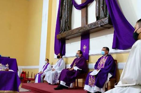 Instalación P. Rómulo Vera C.S.C. como Párroco de la Parroquia Nuestra Señora de Andacollo